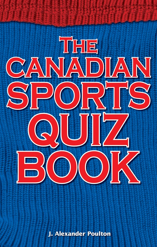 Canadian Sports Quiz Book
